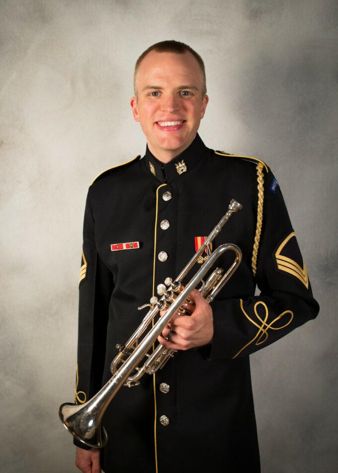 SSG Marty Bishop, trumpet
