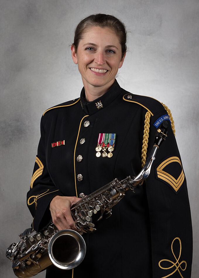 SFC Michelle Acton, saxophone