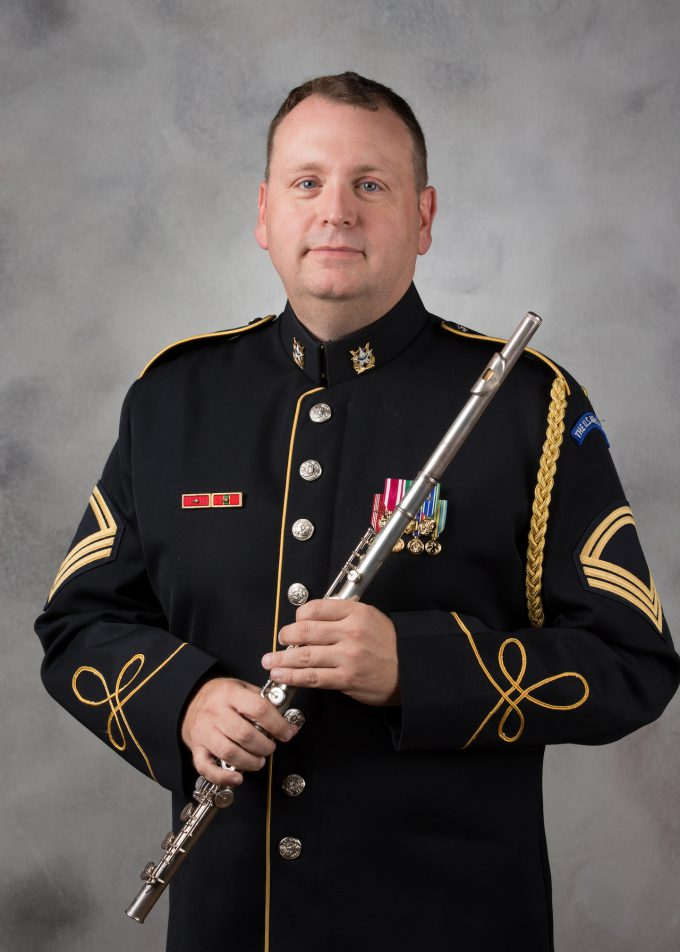 MSG Robert Aughtry, flute