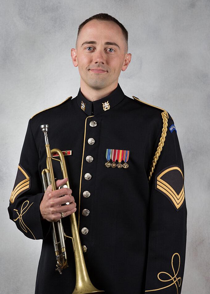 SFC Kelley Corbett, trumpet
