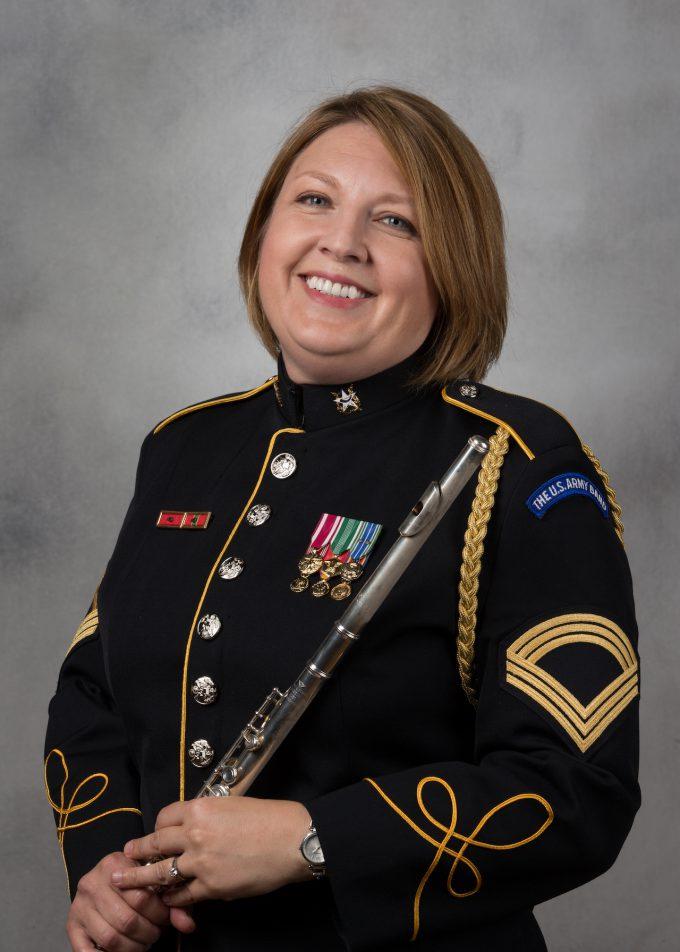MSG Kendra Craven, flute