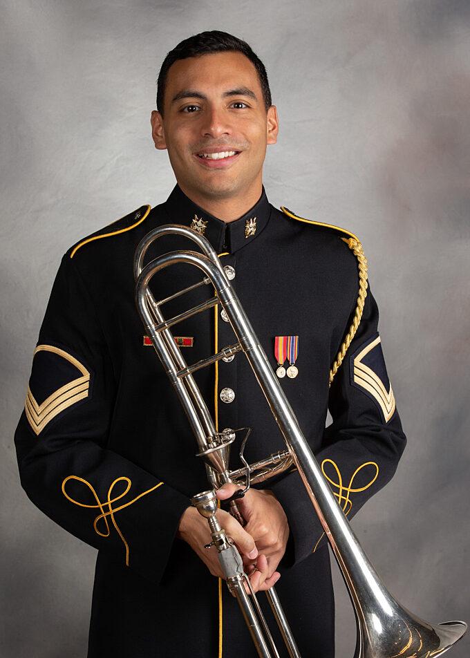 SSG Omar Dejesus, trombone