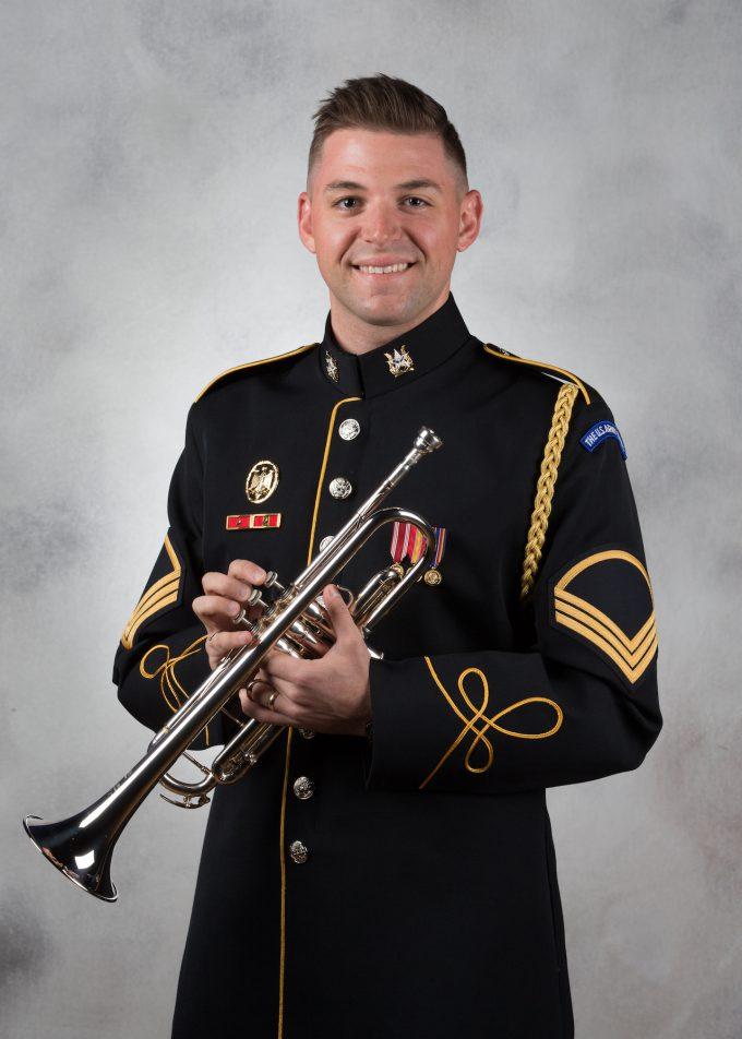 SFC Drew Fremder, trumpet