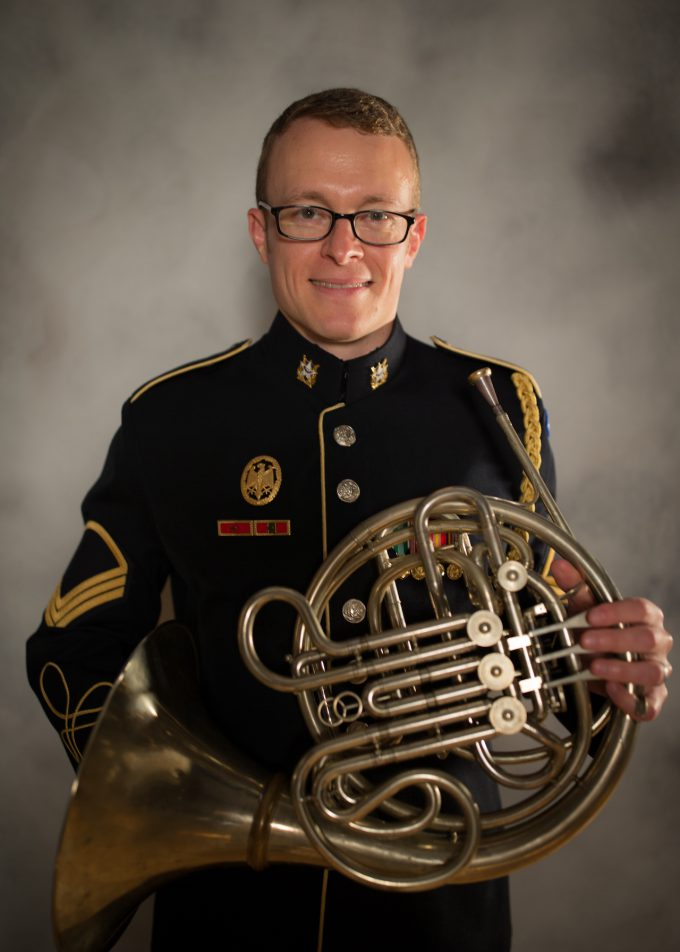 SFC Evan Geiger, french horn