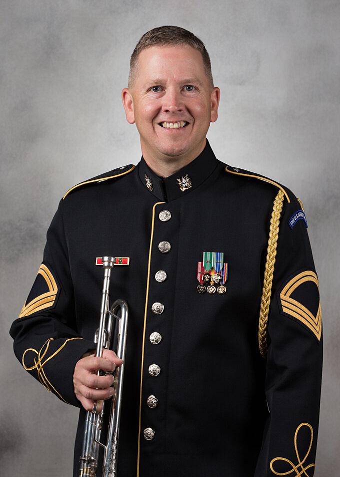 SFC Robert Goodner, trumpet
