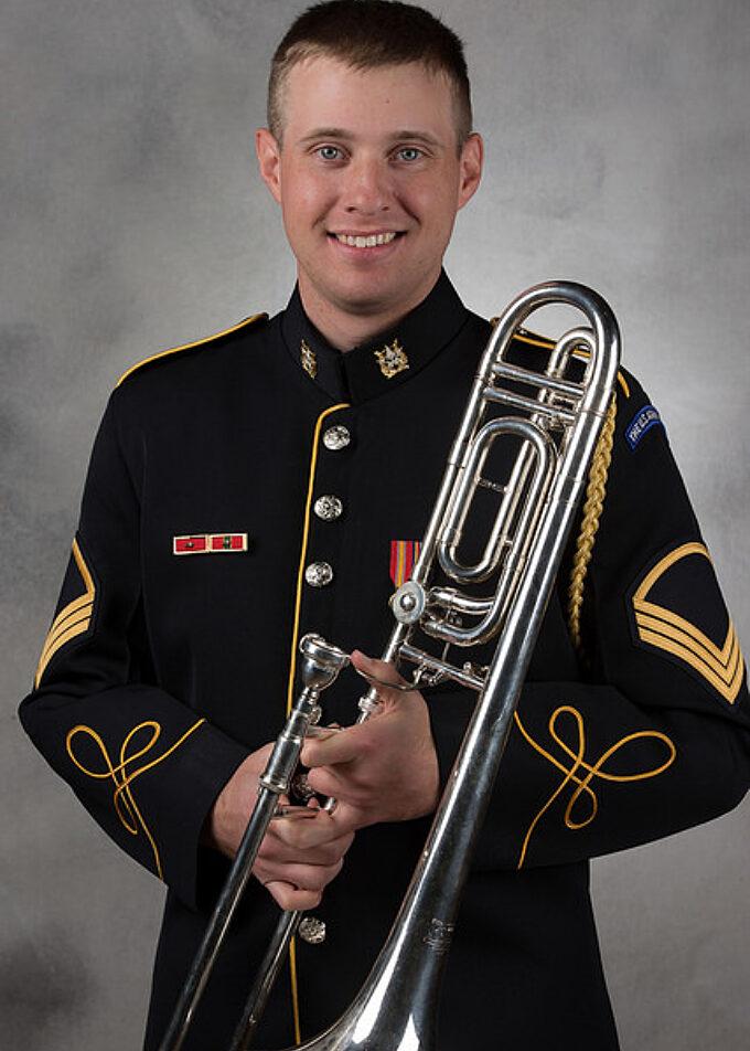 SSG Gregory Hammond, trombone