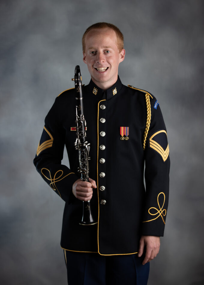 SSG Sammy Lesnick, clarinet