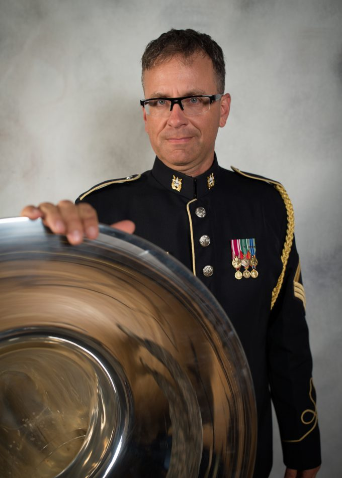 MSG Aaron Lovely, tuba