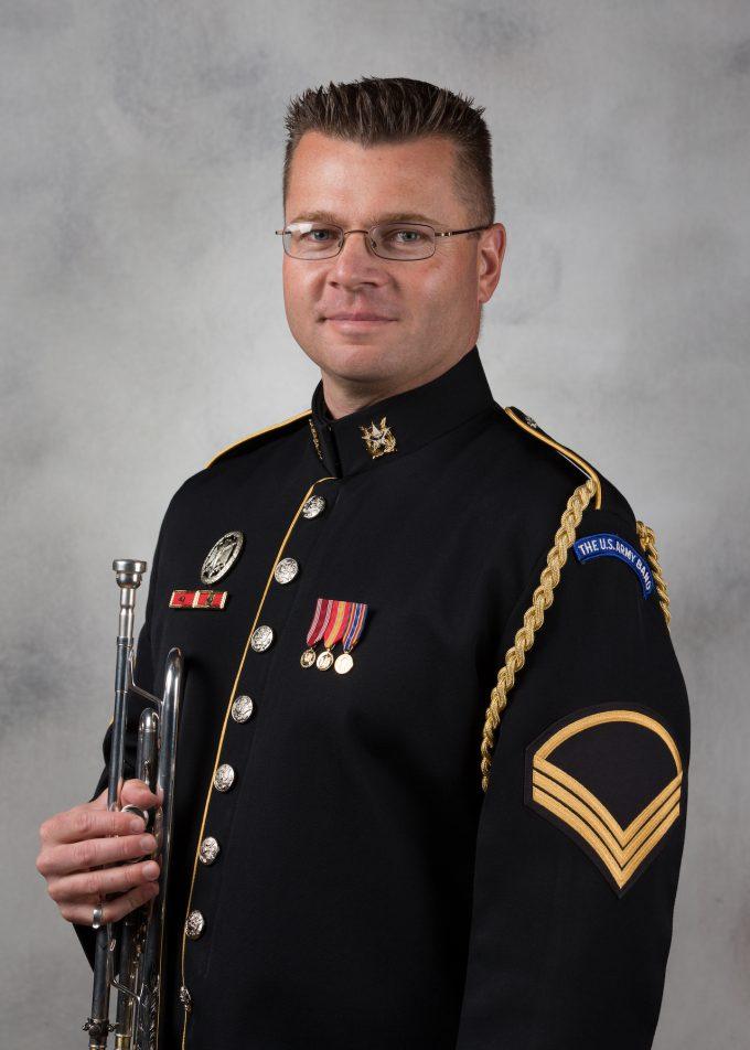 SFC Kevin Maloney, trumpet