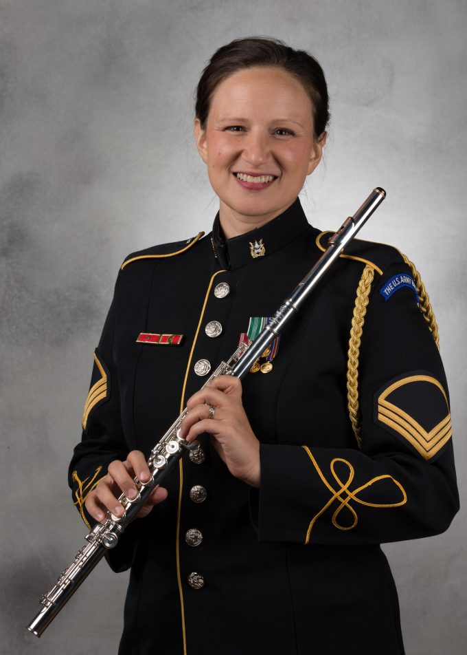 SFC Elizabeth Mcginness, flute
