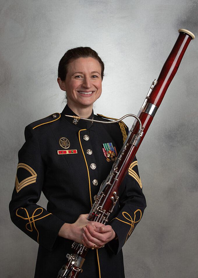 SFC Patricia Morgan, bassoon