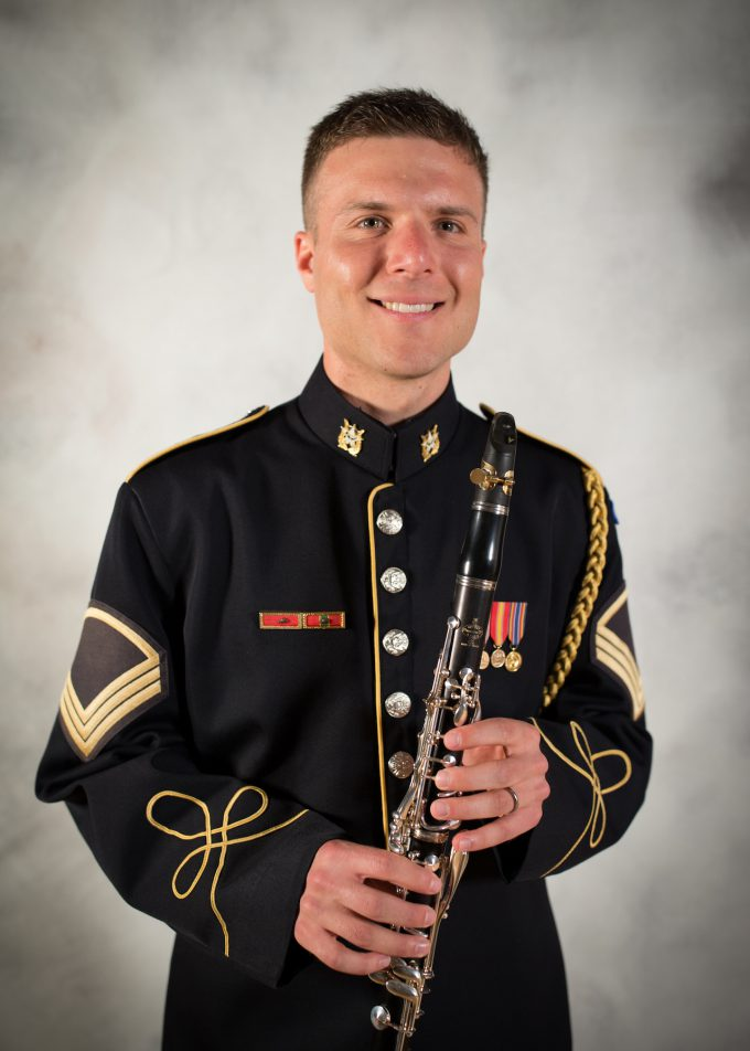 SFC Christopher Reardon, clarinet