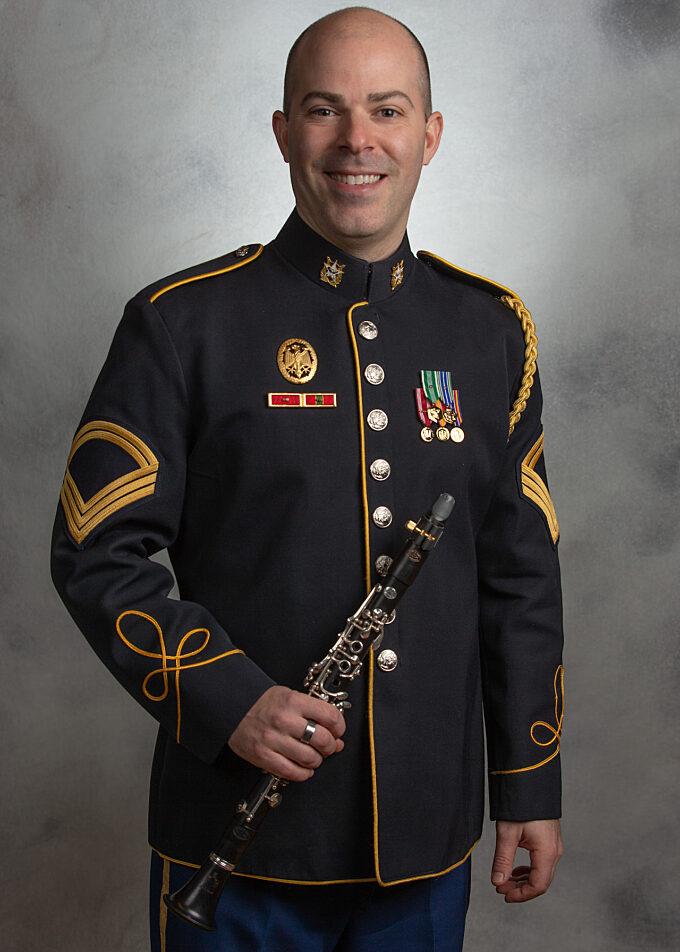 SFC Aaron Scott, clarinet