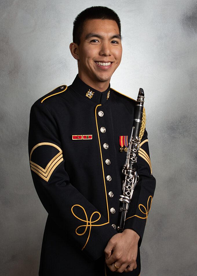 SSG Charles Sonoda, clarinet