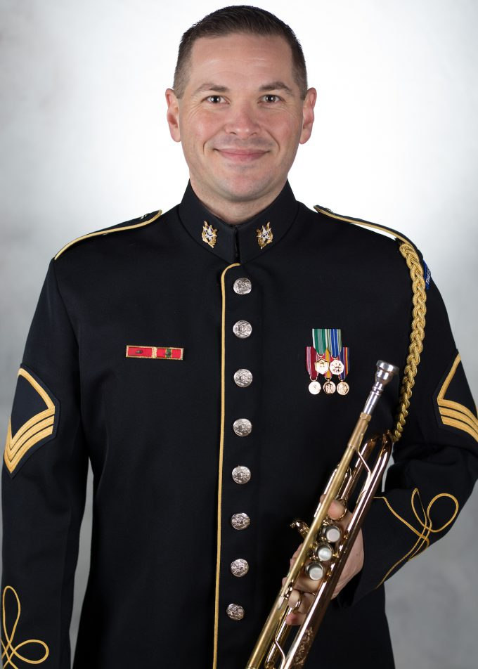 SFC Lorenzo Trujillo, trumpet