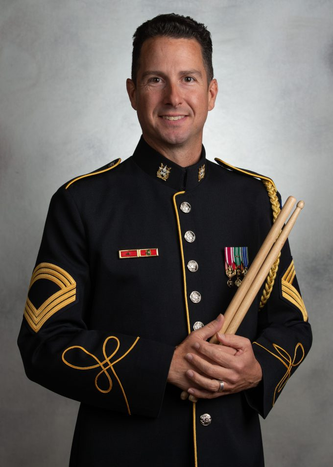 MSG Thomas Dell'Omo, percussion