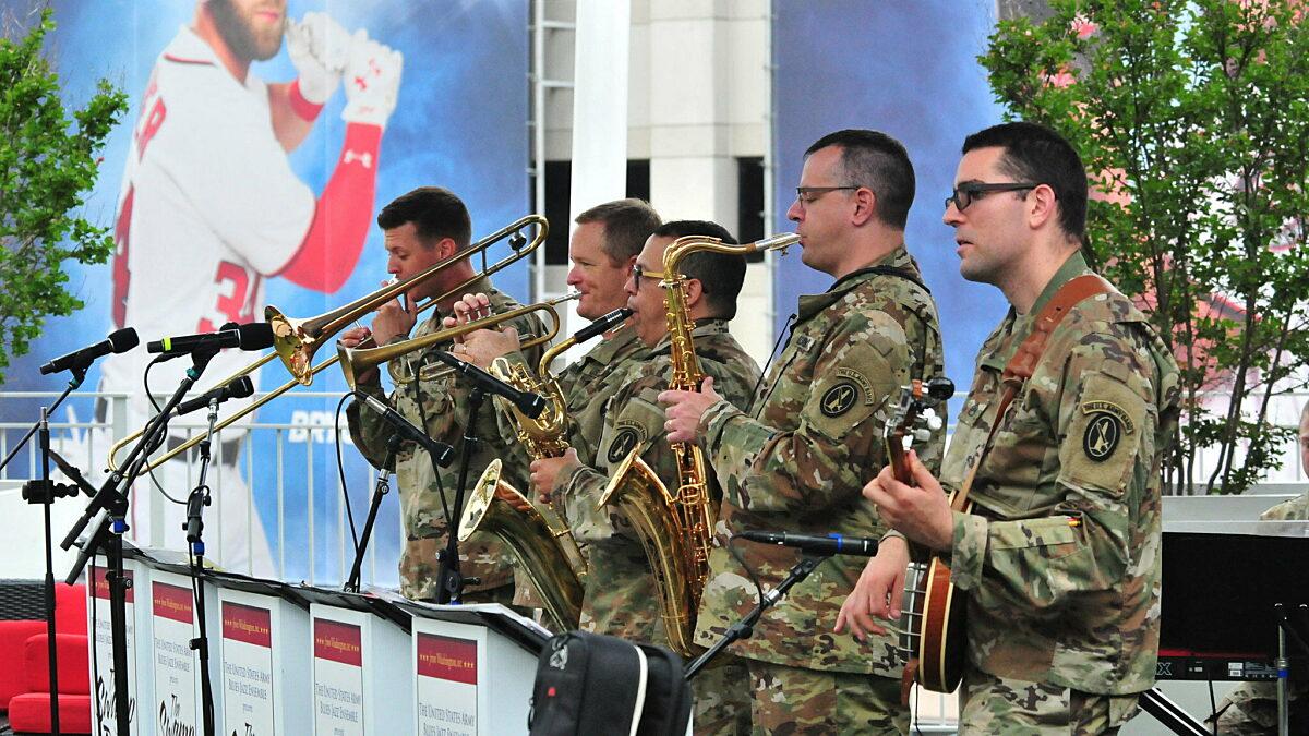 The U.S. Army Blues Swamp Romp