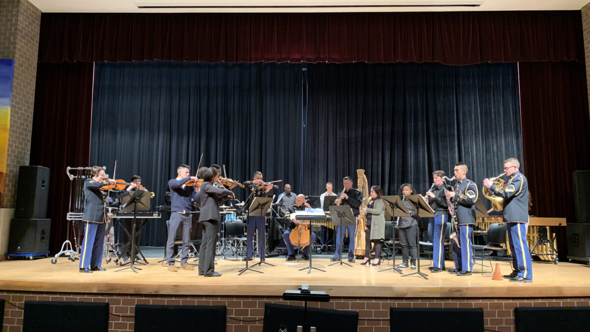 """The U.S. Army Band """"Pershing's Own"""" Chamber Players @ Columbia Heights Educational Campus"""