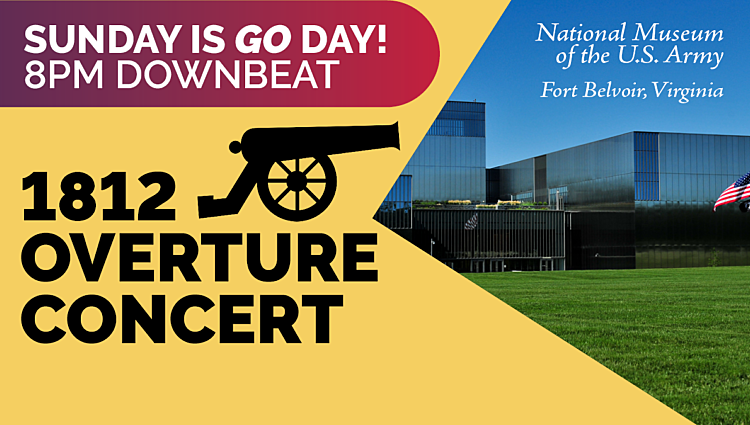 1812 Overture Concert | SUNDAY IS GO DAY! 8PM DOWNBEAT