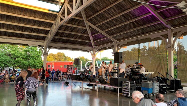 Live Music at Harris Pavillion