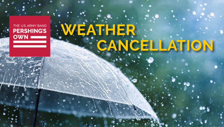 Weather Cancellation | Salute the Sunset